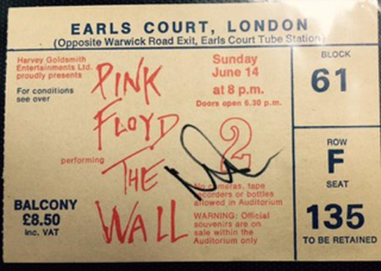 The Wall June 1981 at Earls Court London U K Pink Floyd (Triptych). For Sale 1