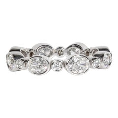 2.07 Carat Total Weight Diamond Eternity Band Ring