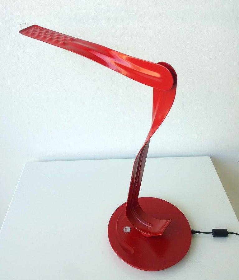Modern Signed Herman Miller Red and Black