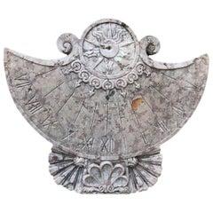 20. Jh. Antike Marmor-Sonnenuhr