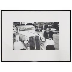 "Leo Theinert 'American' ""Daddy Warbucks"" Original Black and White Photo"
