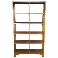 20th C. Mission Arts & Crafts Oak Bookcase Etagere Bookshelf Room Divider