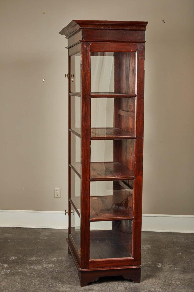 20th Century Sri Lankan Display Cabinet with Single Door