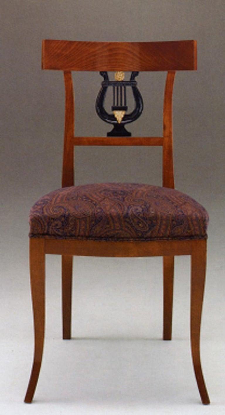 Italian 20th Century Neoclassical Dining Chair