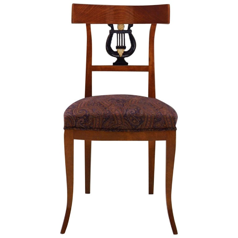 """20th Century Neoclassical Dining Chair """"Copy D'ancienne"""" For Sale"""