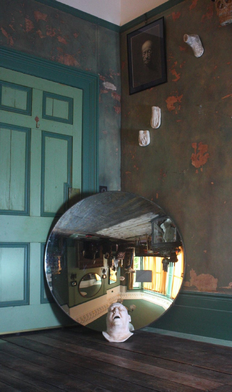 20th Century 1918 Huge Parabolic Concave Mirror Lighthouse Mirror Optical Lens For Sale 5