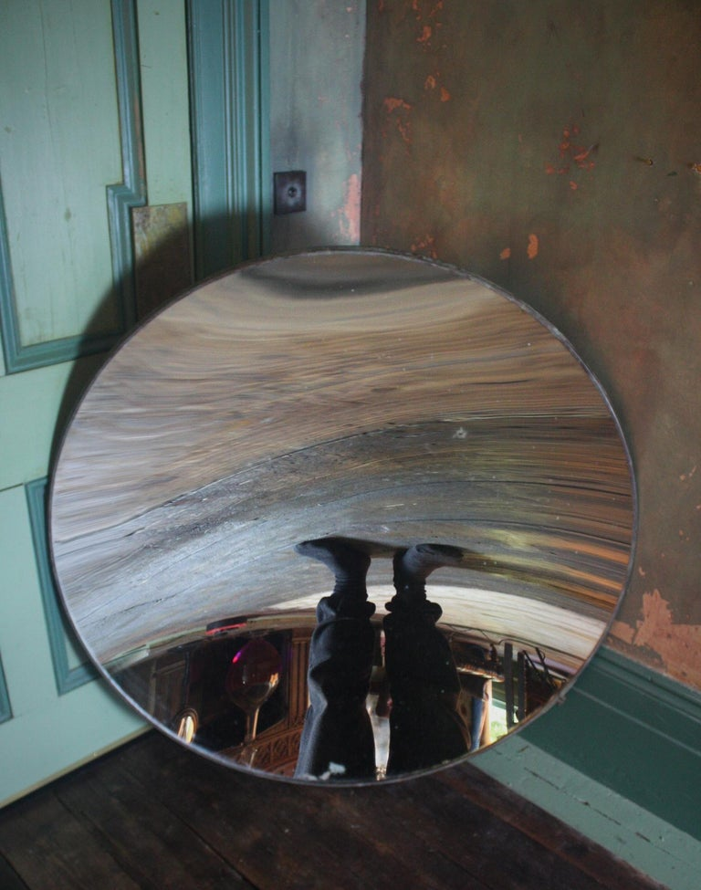 20th Century 1918 Huge Parabolic Concave Mirror Lighthouse Mirror Optical Lens For Sale 6