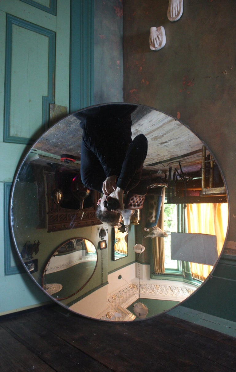 20th Century 1918 Huge Parabolic Concave Mirror Lighthouse Mirror Optical Lens For Sale 7