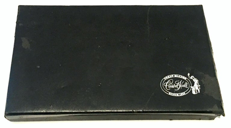 20th Century 23-K Gold Steak Knife Boxed Set of Eight Pieces by, Carvel Hall For Sale 6