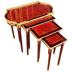 20th Century 4 in 1 Tables in Style of Louis Seize XVI