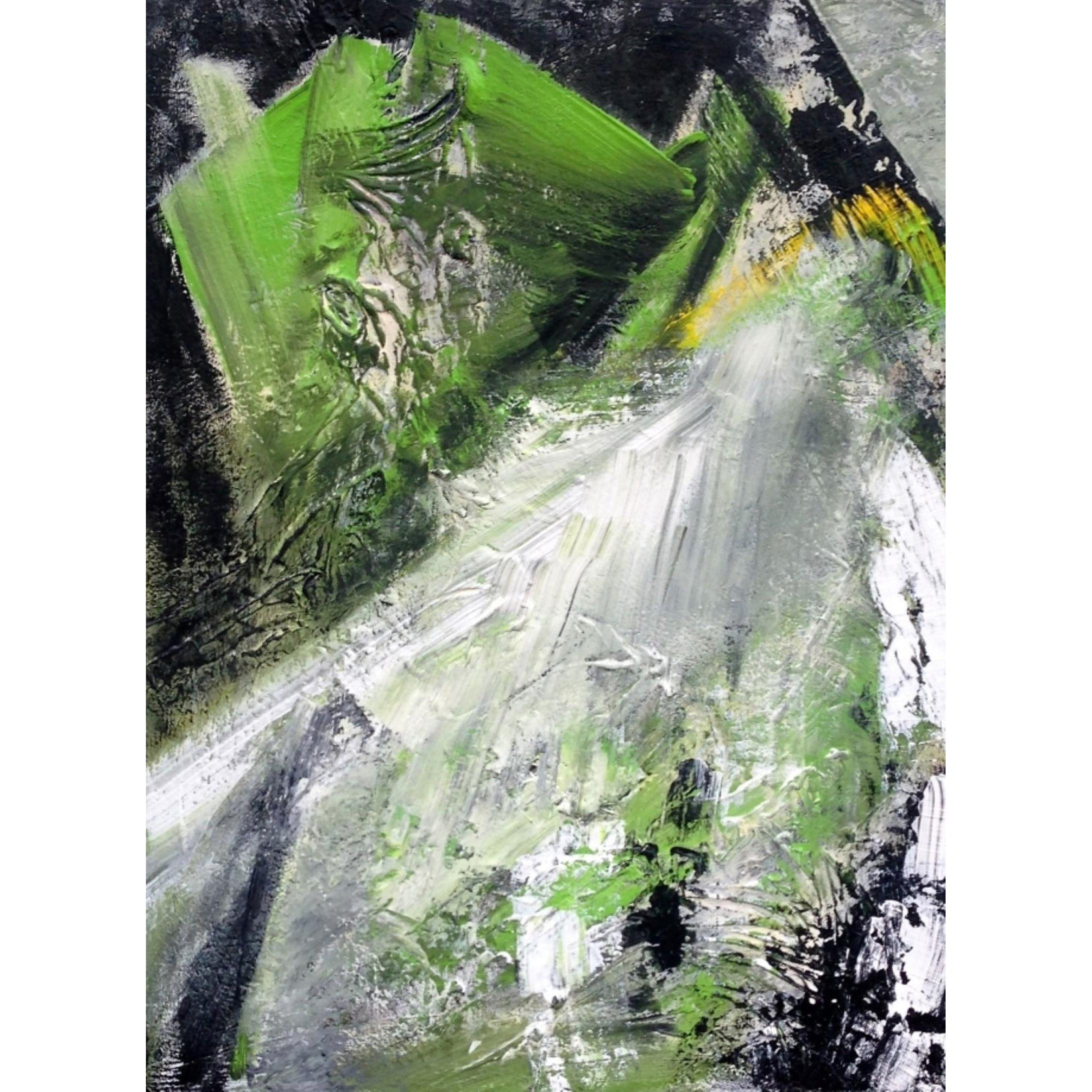 20th Century Abstract Expressionist Painting, American Artist, Suzanne Clune