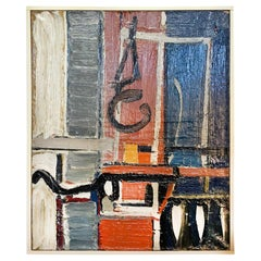 20th Century Abstract Painting by Daniel Clesse