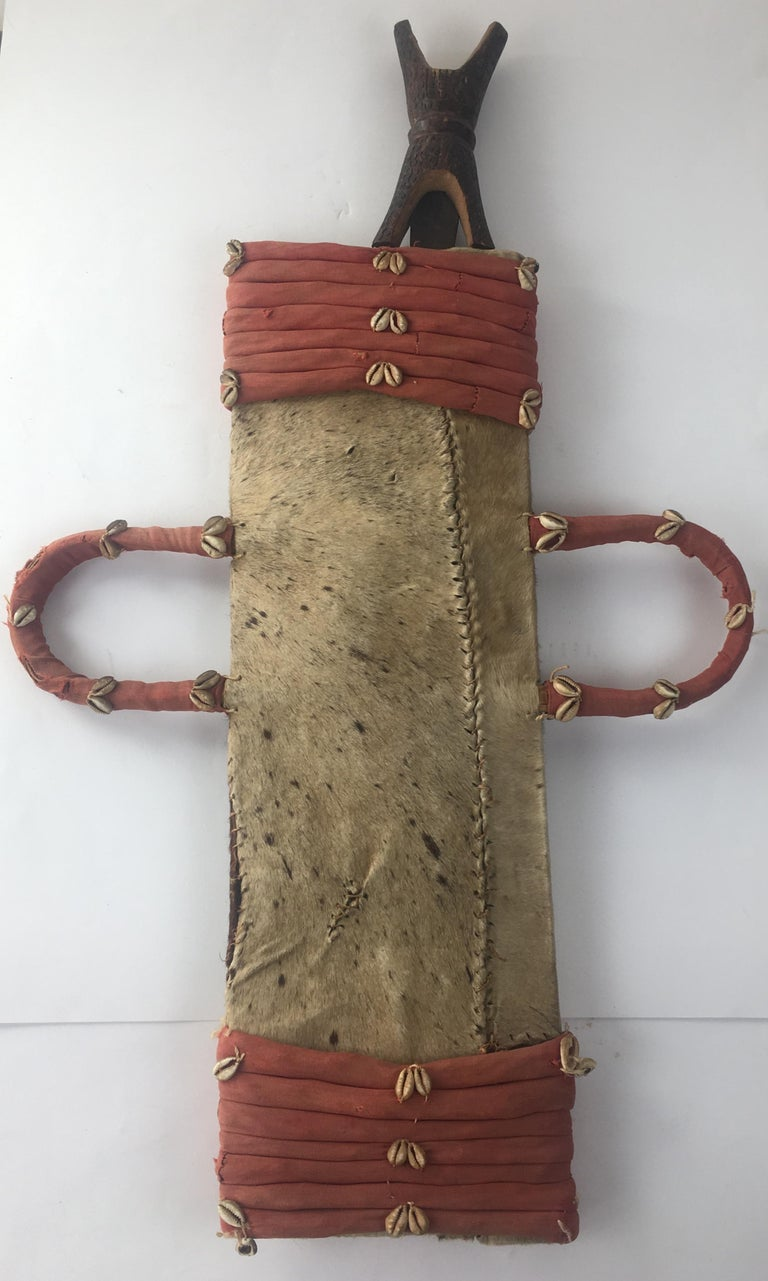20th Century African Tribal Sword with Holder For Sale 3