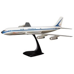 20th Century Air France Painted Aluminium Airplane Model, c.1970