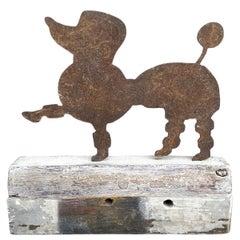 20th Century American Folk Art Poodle