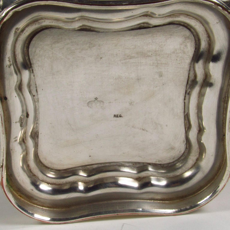 Repoussé 20th Century American Silver Plate Campagna form Wine Cooler For Sale