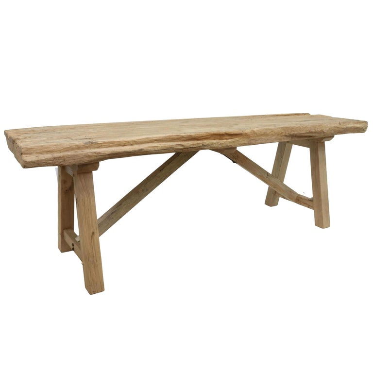 20th Century American Trestle Table In Good Condition For Sale In Chicago, IL