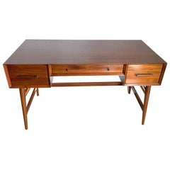20th Century American Walnut Desk in the Style of Paul Frankl