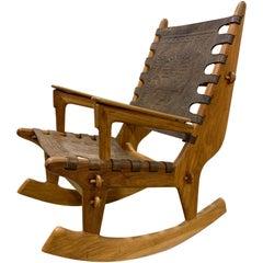 20th Century Angel Pazmino Rocker Lounge Chair