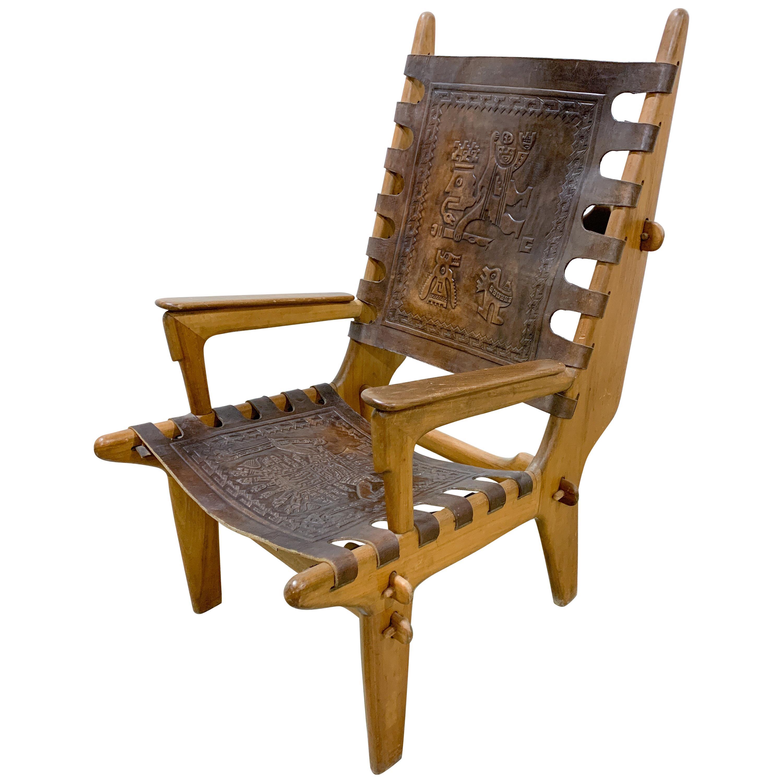 Mid Century Modern Angel Pazmino Throne Chair