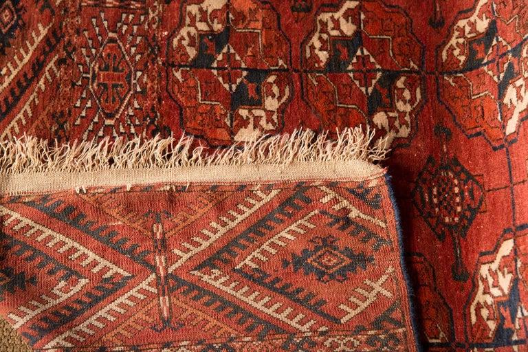 20th Century Antique Buchara Carpet Rug For Sale 3