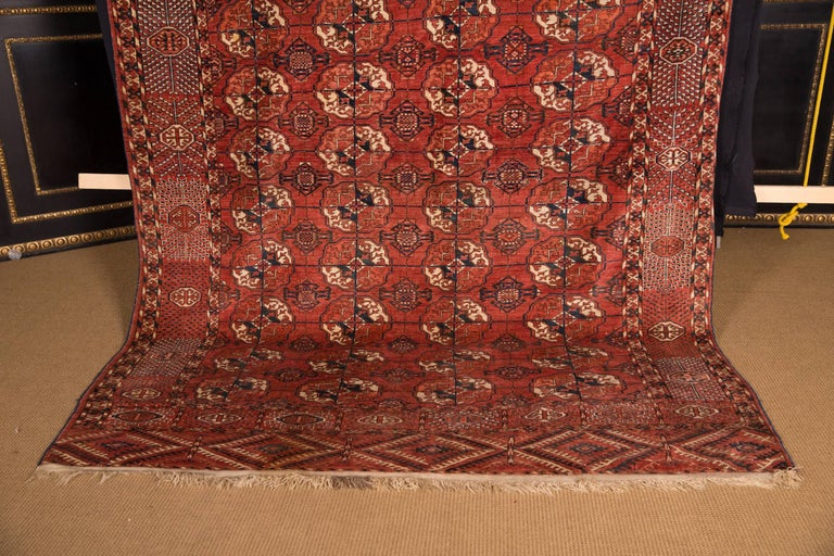 Other 20th Century Antique Buchara Carpet Rug For Sale