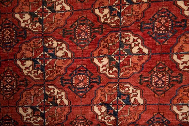20th Century Antique Buchara Carpet Rug For Sale 1