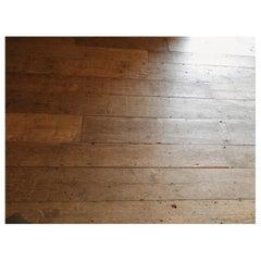 20. Jahrhundert Antike Keruing Tropischer Holz Boden mit Original Patina