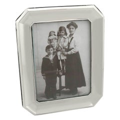 20th Century Antique Sterling Silver Photograph Frame, 1911