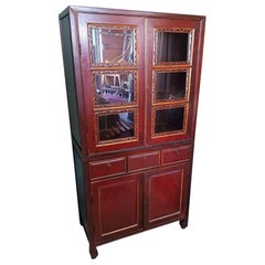 20th Century Antique Style Chinese Cupboard
