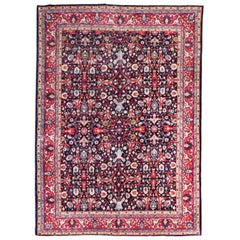 20th Century Antique Tabriz Wool Rug Classic Design Garrus