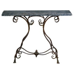 20th Century Arras Hoof Foot Console Table