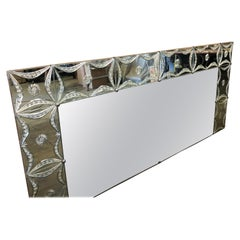 20th Century Art Deco French Wall Mirror