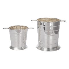 20th Century Art Deco Silver Plated Wine Cooler & Ice Bucket, c.1930