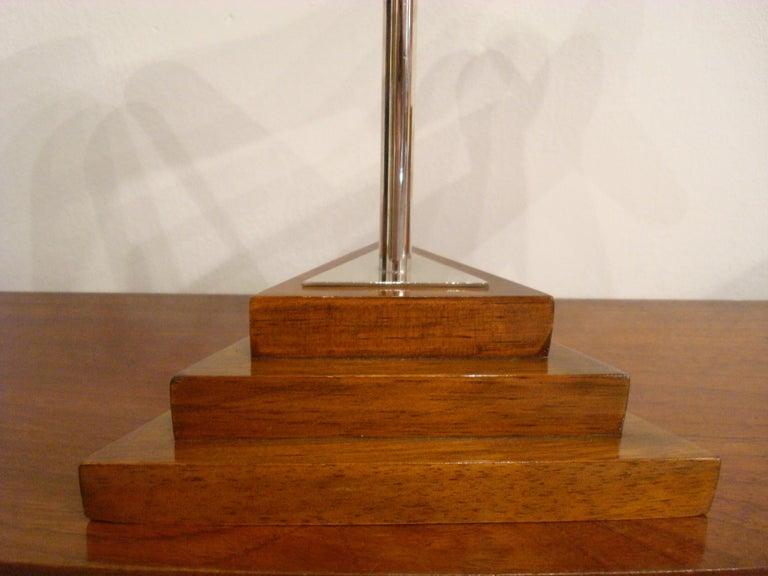 20th Century, Art Deco Streamline Airplane Wooden Model Sculpture, 1930s For Sale 6