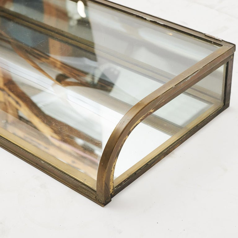 """French 20th Century Art Deco Table Display Case from """"Siegel Paris"""" For Sale"""