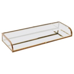 "20th Century Art Deco Table Display Case from ""Siegel Paris"""