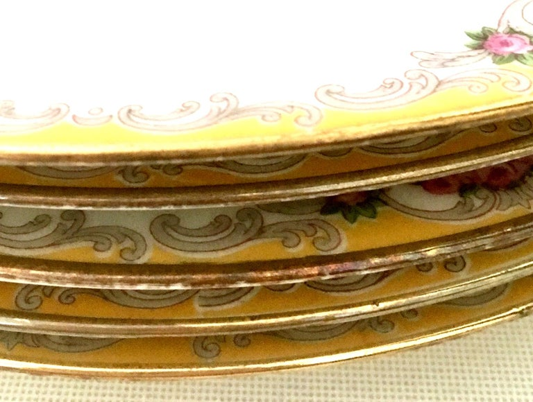 20th Century Art Nouveau Limoges France Dinnerware Set of 17 by, M. Redon For Sale 4