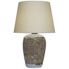 20th Century Artwork Ceramic Table Lamp