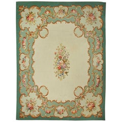 20th Century Aubusson Rug by Maxime Fougerol