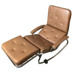 20th Century Banmuller Faux Leather Lounge Chair, 1970s