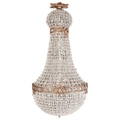20th Century Biedermeier Style Basket Candelabra