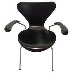 20th Century Black Butterfly Series 7 Armchair by Arne Jacobsen for Fritz Hansen