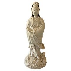 20th Century Blanc de Chine Guanyin