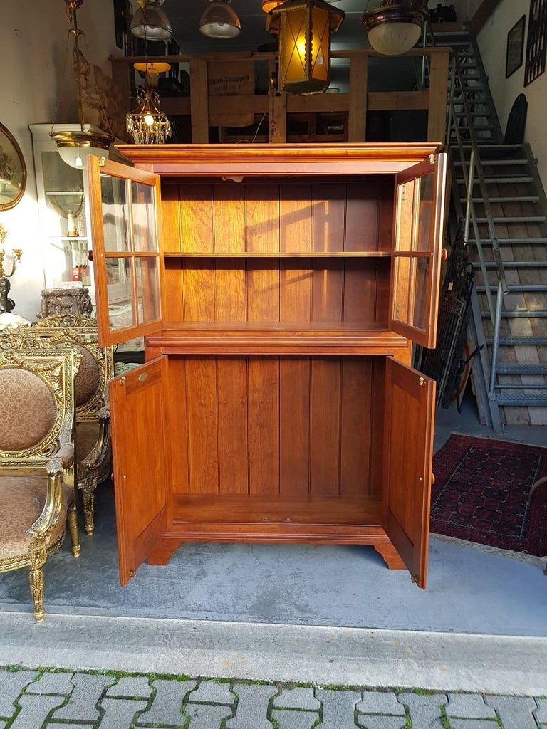 20th Century Bob Timberlake Cherry Kitchen Cupboard Made in USA In Good Condition For Sale In Raalte, NL