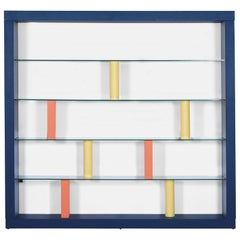 Bookcase 'Giorno' by Ettore Sottsass  Production Schopenauer