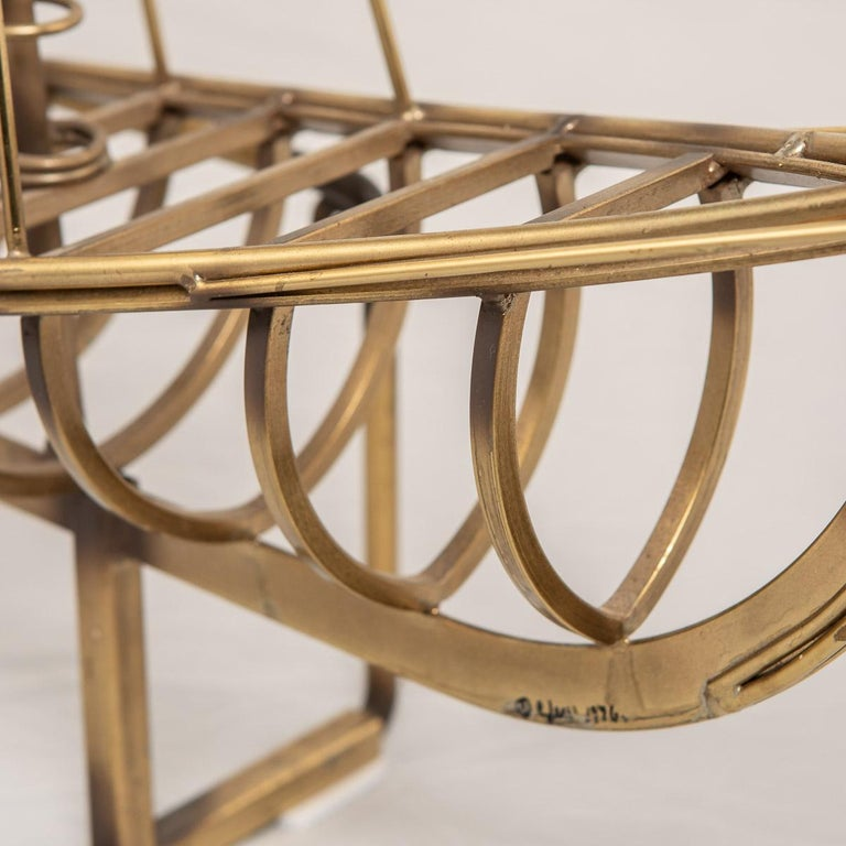 20th Century Brass Galleon Ship by Curtis Freiler & Jerry Fels, 1970s For Sale 13
