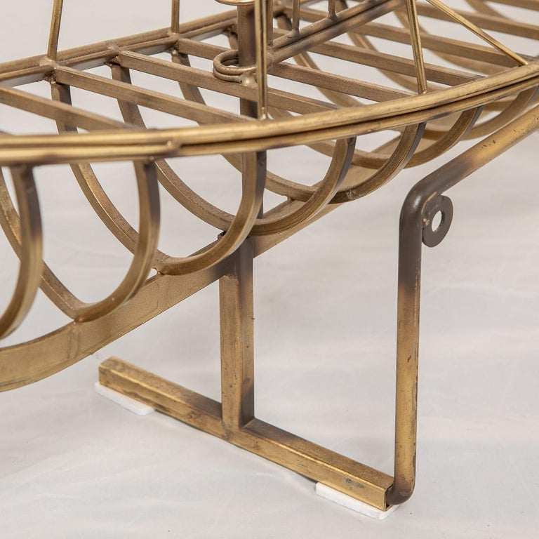 20th Century Brass Galleon Ship by Curtis Freiler & Jerry Fels, 1970s For Sale 15