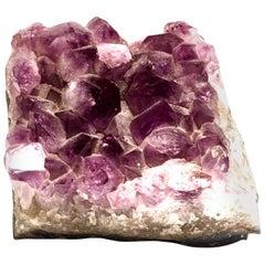20th Century Large Brazilian Amethyst Geode Specimen/Fragment