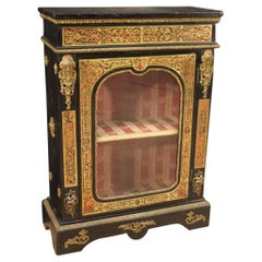 20th Century Bronze Brass Wood French Boulle Style Sideboard, 1950